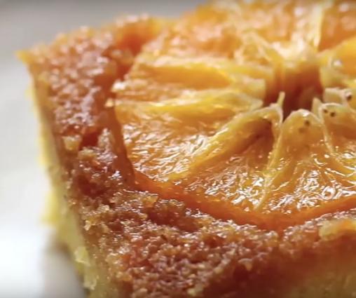 cómo hacer bizcocho de naranja