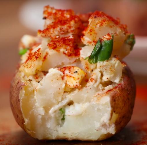 receta ensalada de patata en mentta