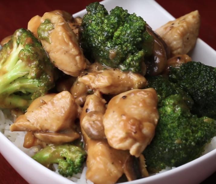 Receta de revuelto de pollo y verduras